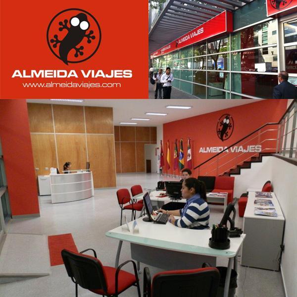 La franquicia almeida viajes inaugura nuevas oficinas for Grupo vips oficinas centrales