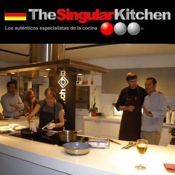 Nuevo show cooking en the singular kitchen europolis - The singular kitchen ...